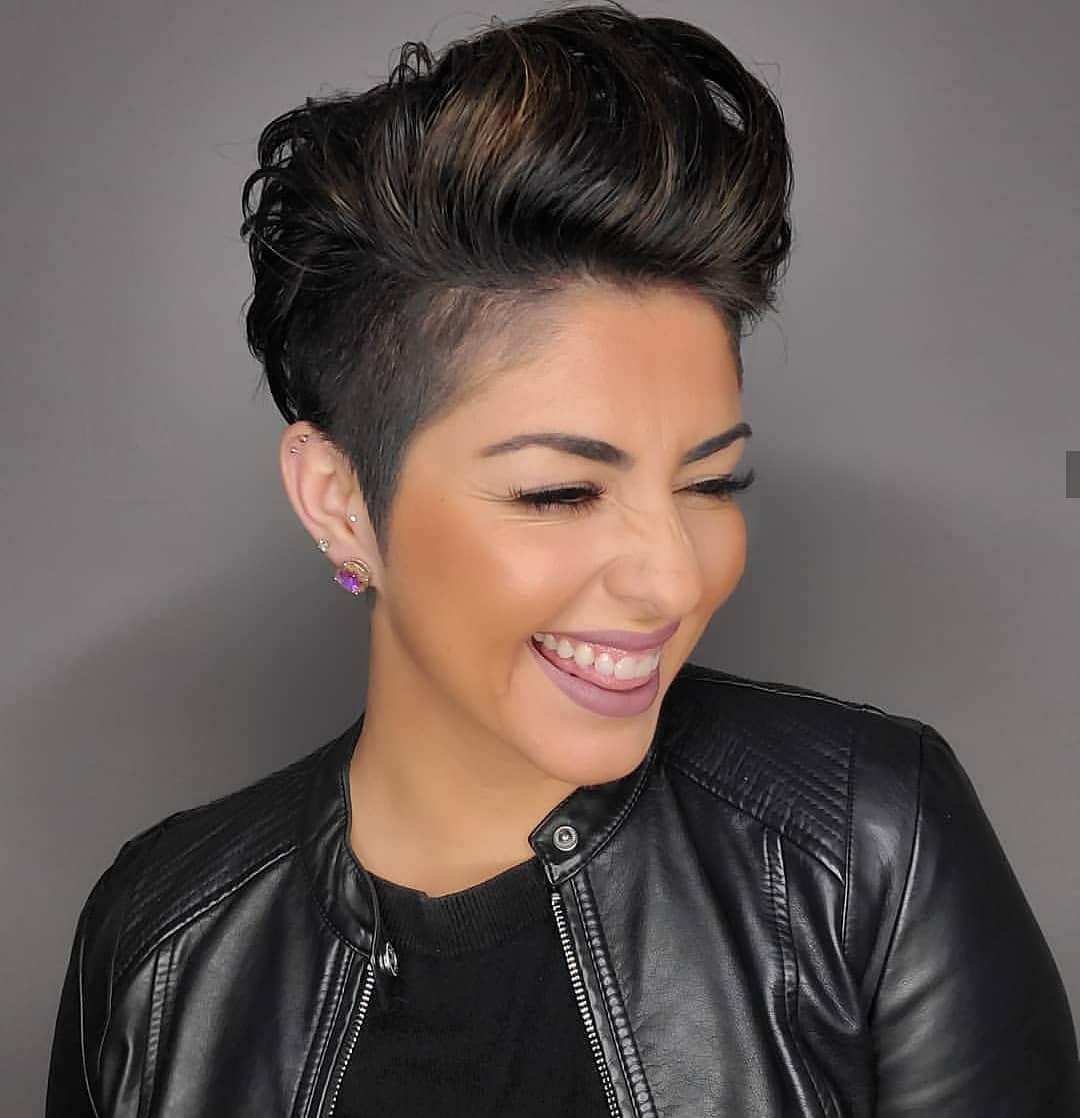 Kurze Pixie-Frisuren: Immer mehr Frauen auf der ganzen Welt denken an
