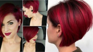 10 gewagte Ideen für kurze rote Haarfarben