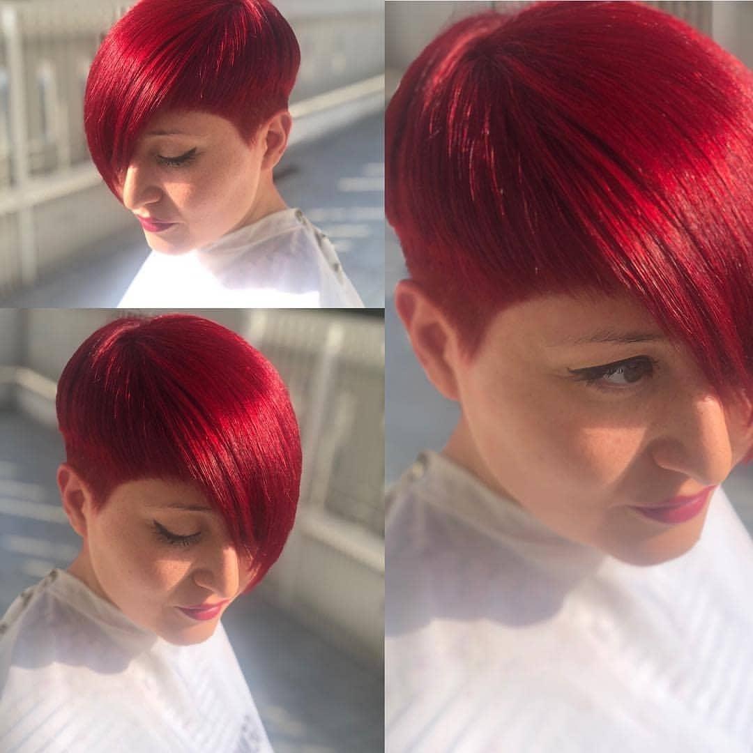 Mehrdimensionales rotes Haar