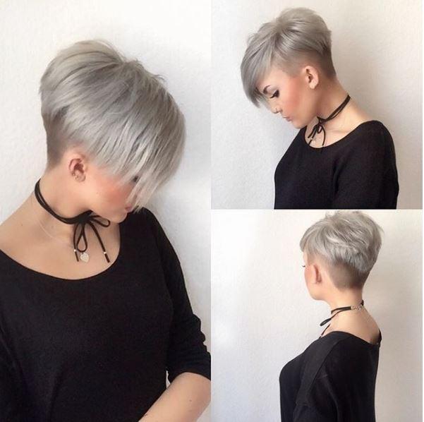 Es gibt neue trend bei grau kurzhaarfrisur...