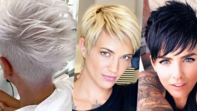 Photo of 10x Große Kurze Pixie Frisuren