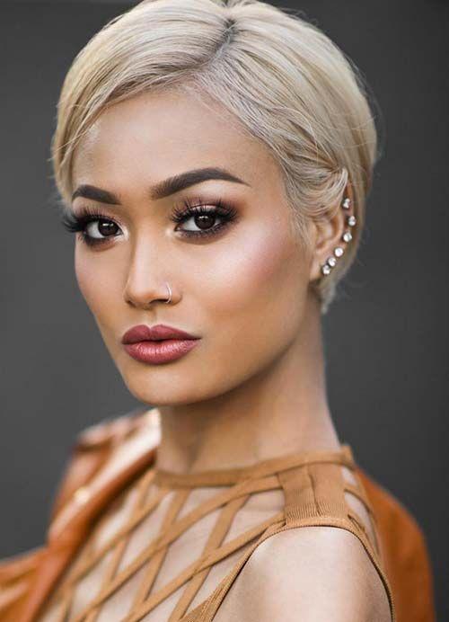 15 Bilder von kurze Pixie Frisuren für Frauen