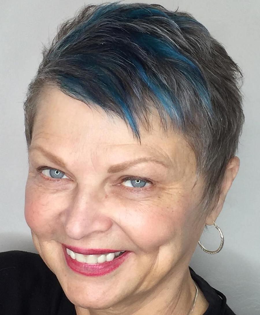 Wunderschöne und einfache Kurzhaarfrisuren für Frauen über 50