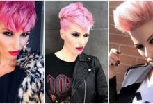 Photo of 10 Wunderschöne, kurze pinke Haarschnitte