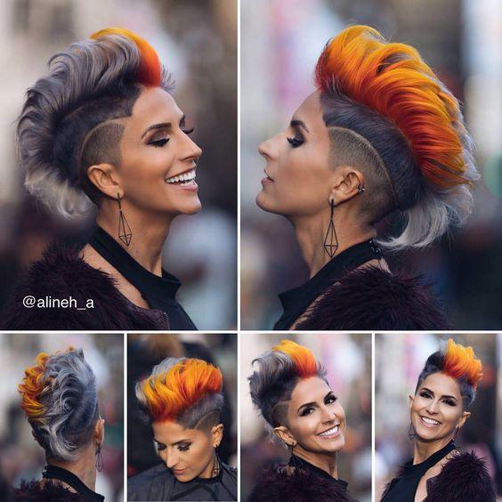 15 schönsten Haarfarben-Trends im Jahr 2020