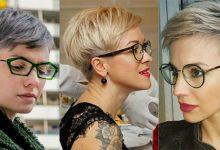 Photo of 10 super coole kurze Frisuren, die Frau mit der Brille inspirieren!