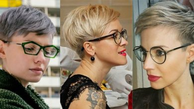 Photo of 10 super coole kurze Frisuren, die Frau mit der Brille inspirieren!