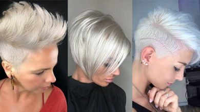 Photo of 11 x platinblonde Kurzhaarfrisuren mit einem super coolen Charakter